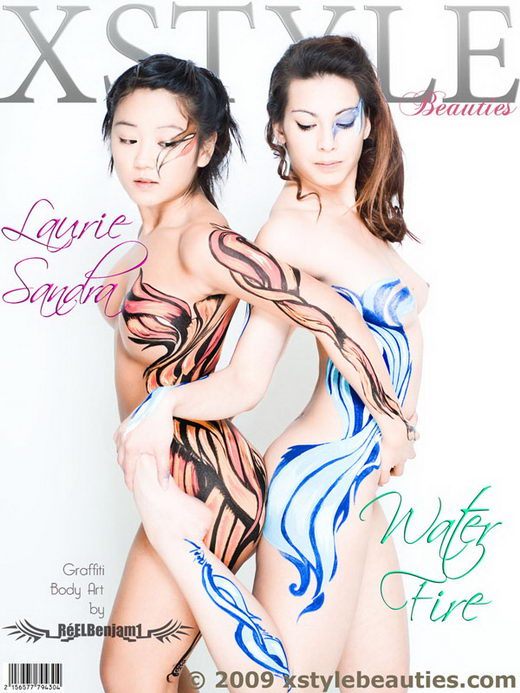 Laurie & Sandra - `Water Fire` - for XSTYLEBEAUTIES