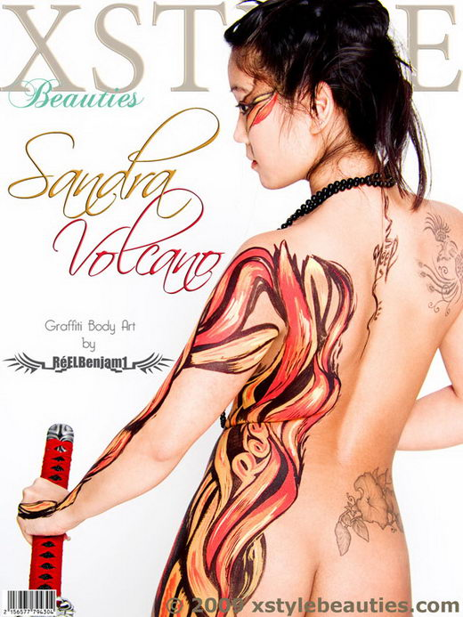 Sandra - `Volcano` - for XSTYLEBEAUTIES