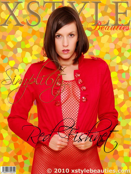 Simpli6ty - `Red Fishnet` - for XSTYLEBEAUTIES