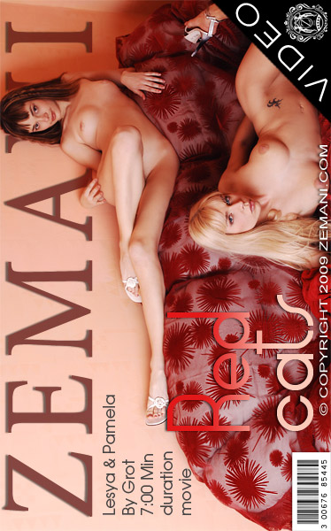 Lesya & Pamela - `Red Cats` - by Grot for ZEMANI VIDEO