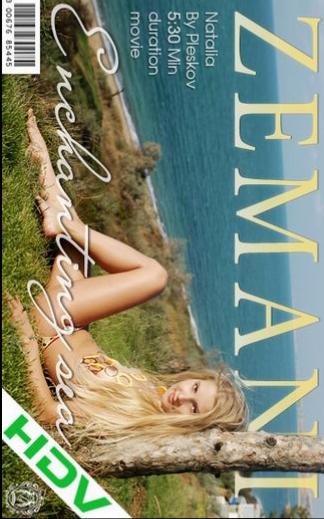 Natalia - `Enchanting Sea` - by Pleskov for ZEMANI VIDEO