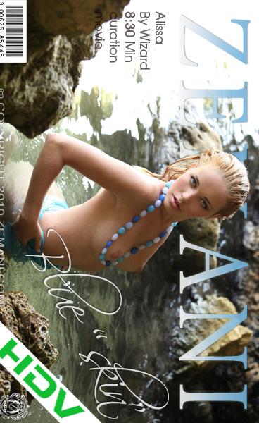 Alissa - `Blue Skin` - for ZEMANI VIDEO