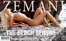 Ksenia in The Beach Season video from ZEMANI VIDEO by Fadin