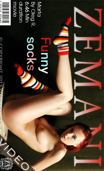 Marta - `Funny Socks` - by Oleg R for ZEMANI VIDEO