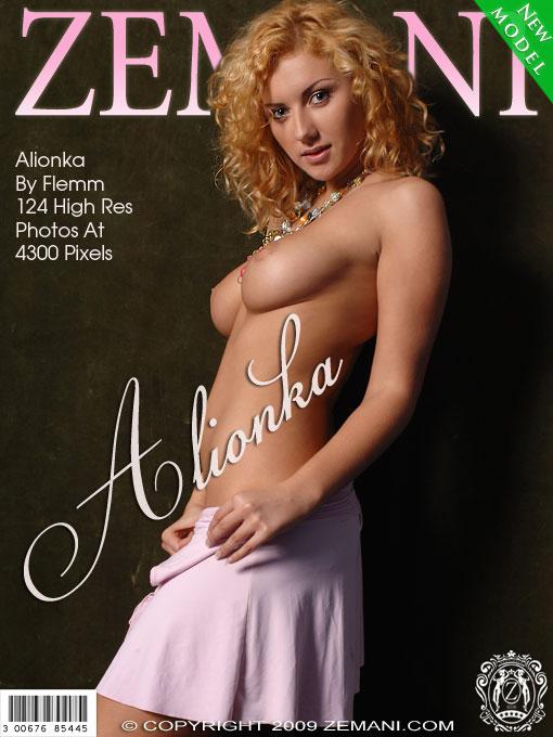 Alionka - `Presenting Alionka` - by Flemm for ZEMANI