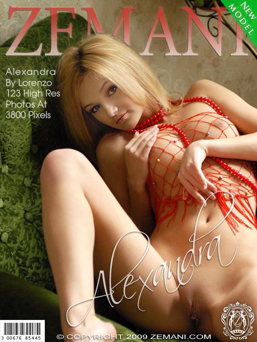 Alexandra - `Presenting Alexandra` - for ZEMANI