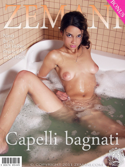 Nina - `Capelli Bagnati` - by Nina for ZEMANI