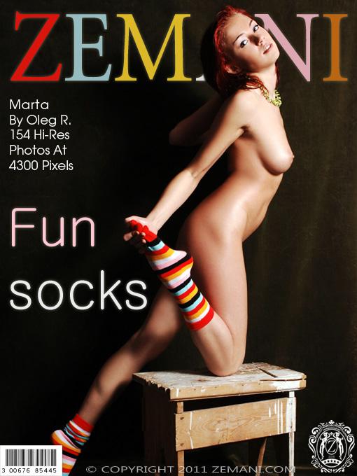 Marta - `Funny Socks` - by Oleg R for ZEMANI
