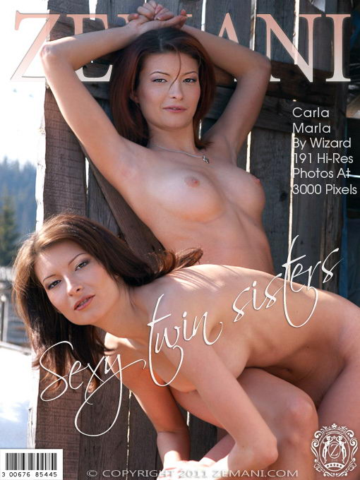 Marla & Carla - `Sexy Twin Sisters` - by Alex Baker for ZEMANI