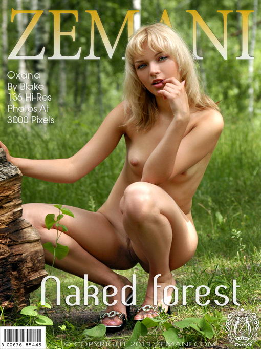 Oxana - `Naked Forest` - by Blake for ZEMANI