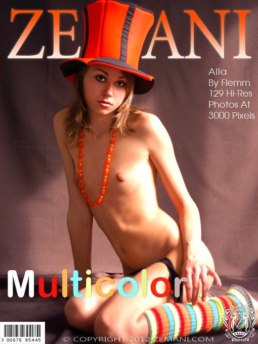 Alla - `Multicolor` - by Flemm for ZEMANI