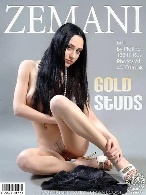 Biti - `Gold Studs` - by Platine for ZEMANI