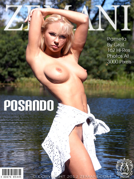Pamela - `Posando` - by Grot for ZEMANI