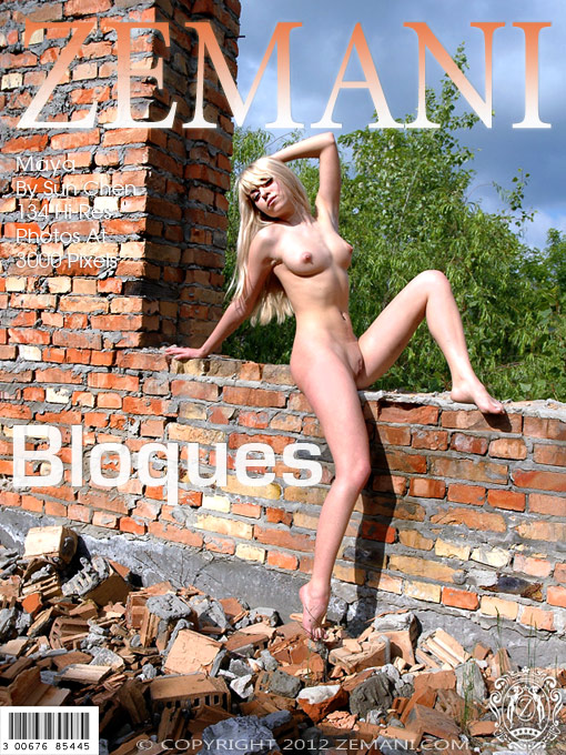 Maya - `Bloques` - by Sun Chen for ZEMANI