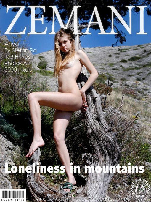 Ariya - `Loneliness in Mountains` - by Stefan Ra for ZEMANI