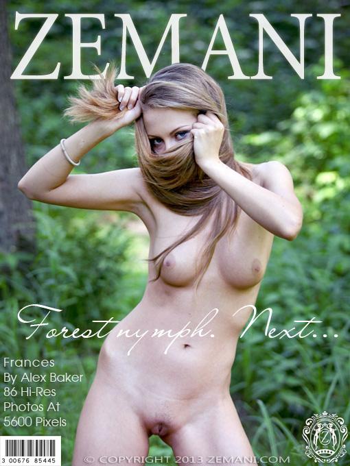 Frances - `Forest Nymph` - by Alex Baker for ZEMANI
