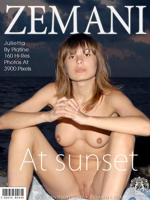 Julietta - `At Sunset` - by Platine for ZEMANI