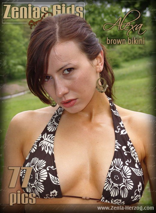 Alexa - `Brown Bikini` - by Carlos Ridago for ZENIA-HERZOG