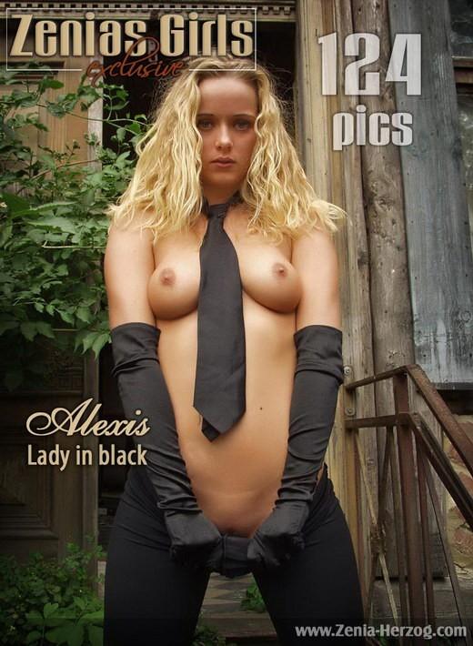 Alexis - `Lady in Black` - by Carlos Ridago for ZENIA-HERZOG