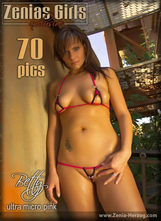 Betty - `Ultra Bikini` - by Carlos Ridago for ZENIA-HERZOG