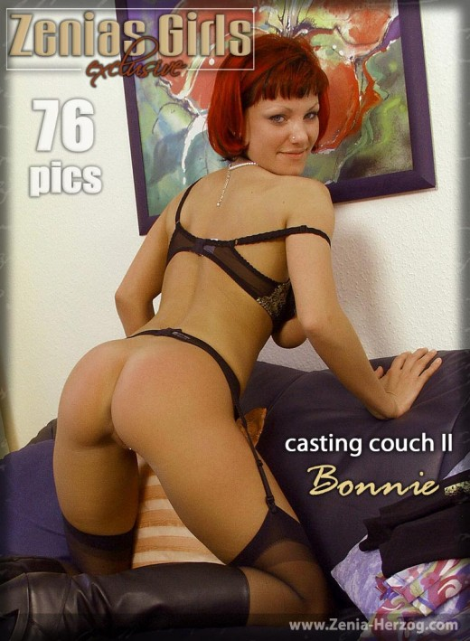 Bonnie - `Casting Couch II` - by Carlos Ridago for ZENIA-HERZOG