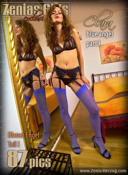 Clara - `Blue Angel - Part 1` - by Carlos Ridago for ZENIA-HERZOG