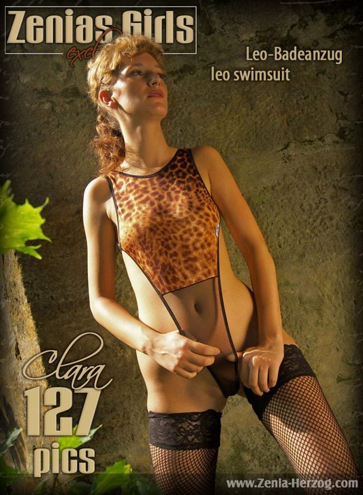 Clara - `Leo Swimsuit` - by Carlos Ridago for ZENIA-HERZOG