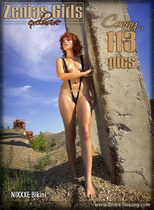 Conny - `Nixxxe Bikini` - by Carlos Ridago for ZENIA-HERZOG
