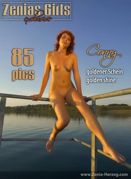 Conny - `Golden Shine` - by Carlos Ridago for ZENIA-HERZOG