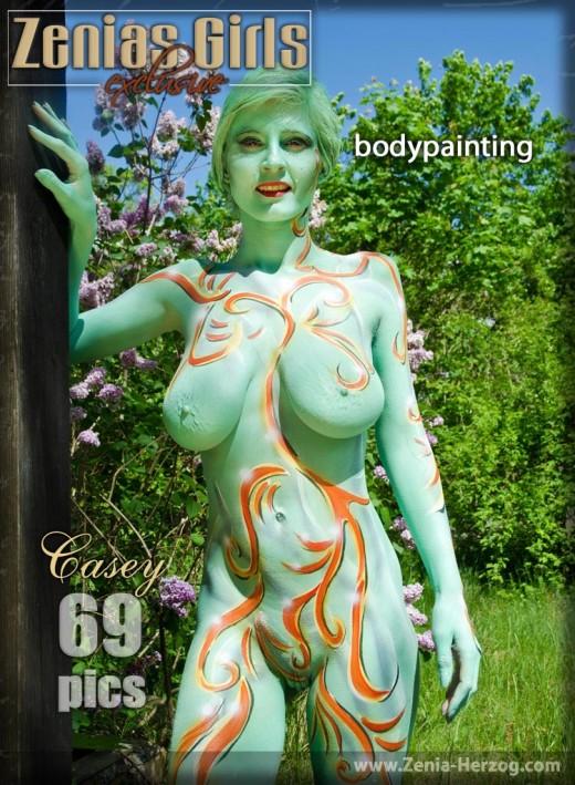 Casey - `Bodypainting` - by Carlos Ridago for ZENIA-HERZOG