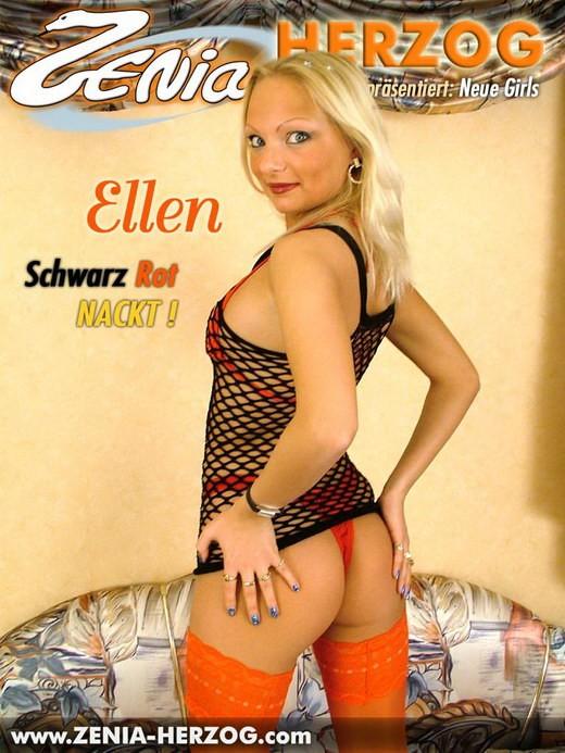 Ellen - `Schwarz Rot Nackt!` - by Carlos Ridago for ZENIA-HERZOG