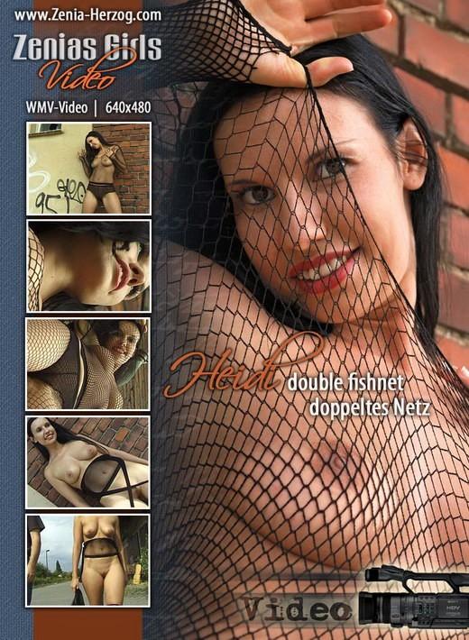 Heidi - `Double Fishnet` - by Carlos Ridago for ZENIA-HERZOG