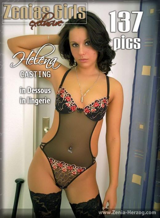 Helena - `In Lingerie` - by Carlos Ridago for ZENIA-HERZOG