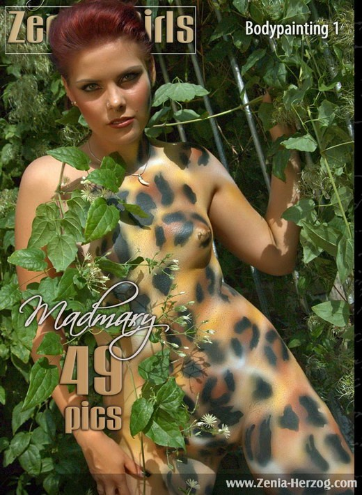 Madmary - `Bodypainting 1` - by Carlos Ridago for ZENIA-HERZOG
