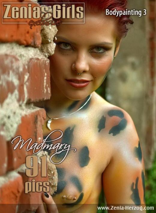 Madmary - `Bodypainting 3` - by Carlos Ridago for ZENIA-HERZOG
