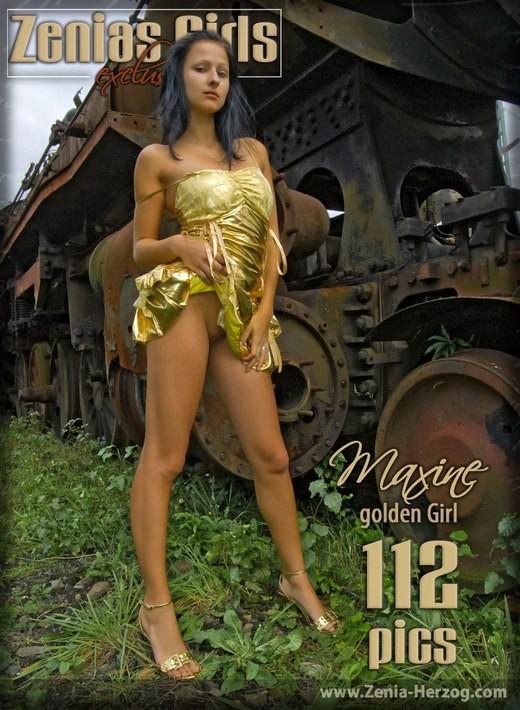 Maxine - `Golden Girl` - by Carlos Ridago for ZENIA-HERZOG