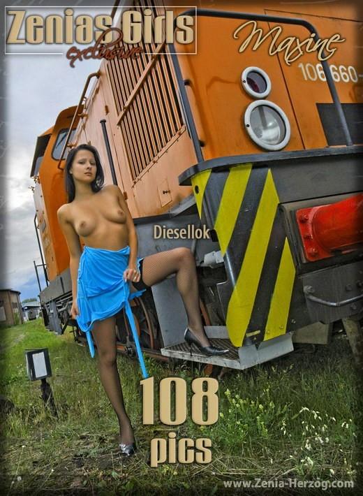 Maxine - `Diesellok` - by Carlos Ridago for ZENIA-HERZOG