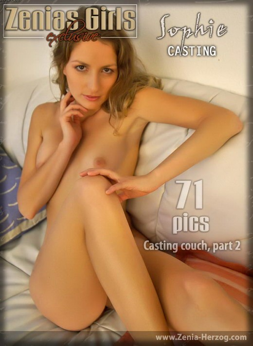 Sophie - `Casting Couch - Part 2` - by Carlos Ridago for ZENIA-HERZOG