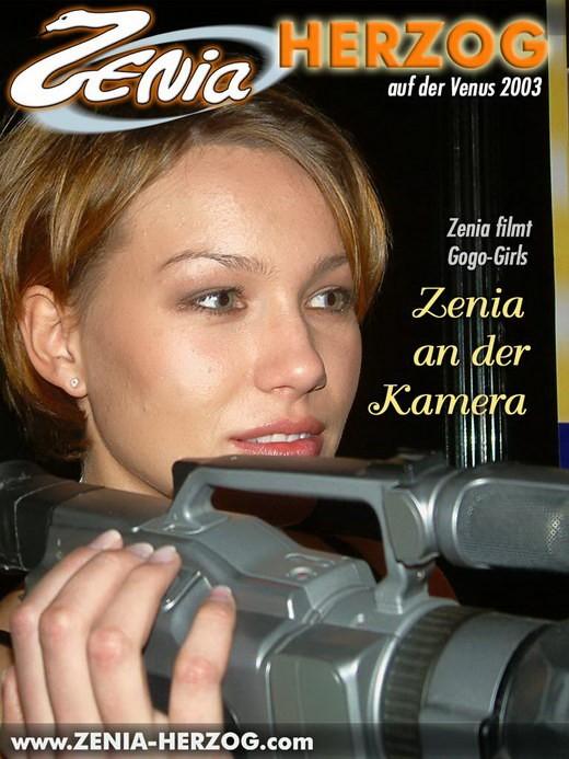 Zenia - `Zenia an der Kamera` - by Carlos Ridago for ZENIA-HERZOG