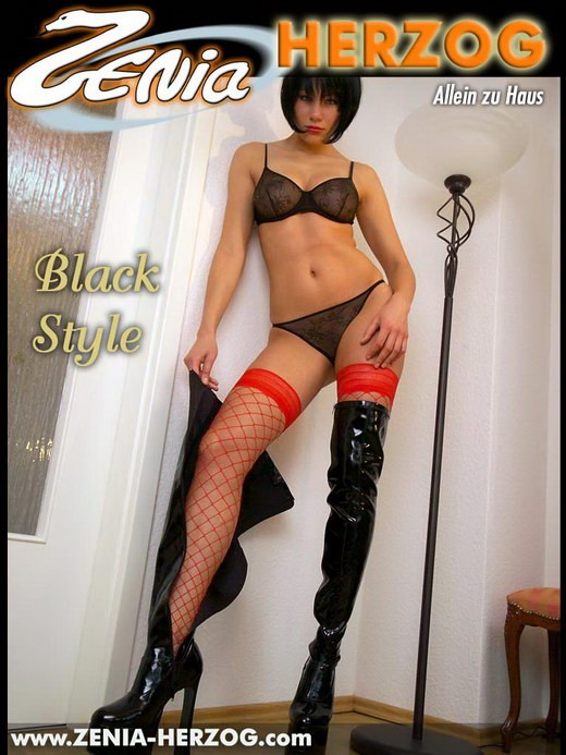 Zenia - `Black Style` - by Carlos Ridago for ZENIA-HERZOG