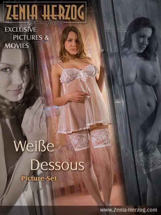 Zenia - `Weisse Dessous` - by Carlos Ridago for ZENIA-HERZOG