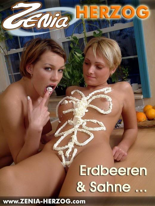 Zenia & Colleen - `Erdbeeren & Sahne...` - by Carlos Ridago for ZENIA-HERZOG
