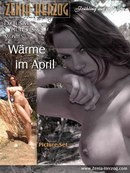 Warme im April