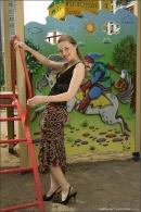 Svetlana in Postcard From Moscow gallery from MPLSTUDIOS by Alexander Lobanov - #7