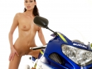 Evelyn in Passionate Biker gallery from WATCH4BEAUTY by Mark - #2