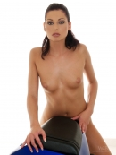 Evelyn in Passionate Biker - Part II gallery from WATCH4BEAUTY by Mark - #7
