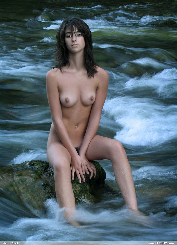 Share your Mountain stream nude girls consider, that