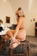 Ambra in Blonde in Black gallery from ERROTICA-ARCHIVES by Erro - #11