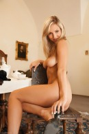 Ambra in Blonde in Black gallery from ERROTICA-ARCHIVES by Erro - #9