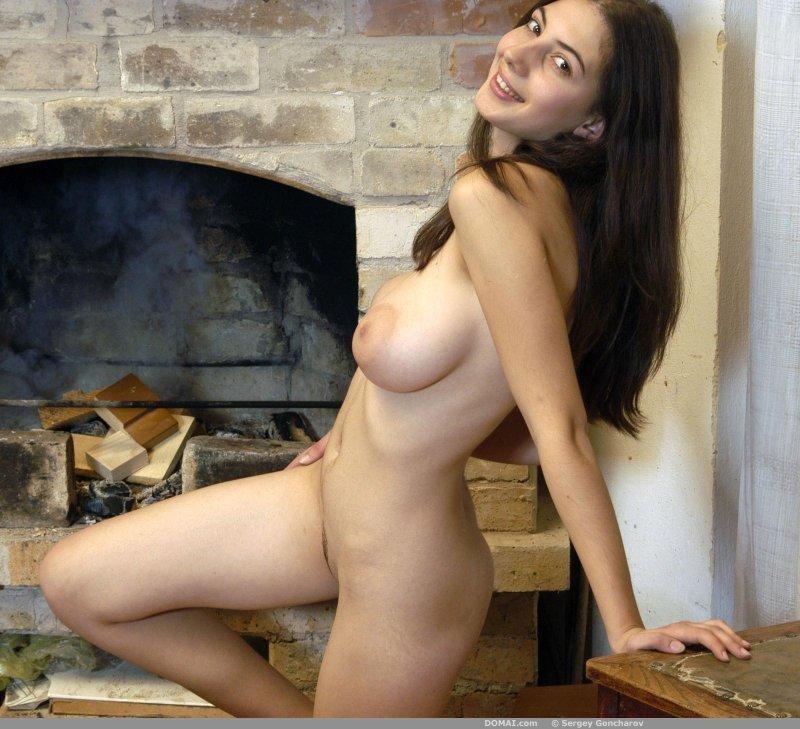 Huge natural tits nude-1075